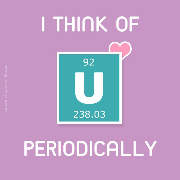 I think of U periodically