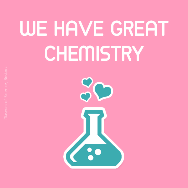 We have great chemistry