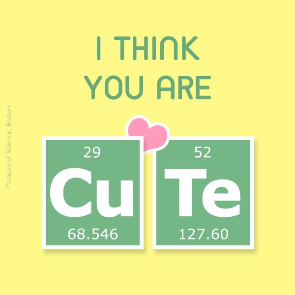 You are cu-te