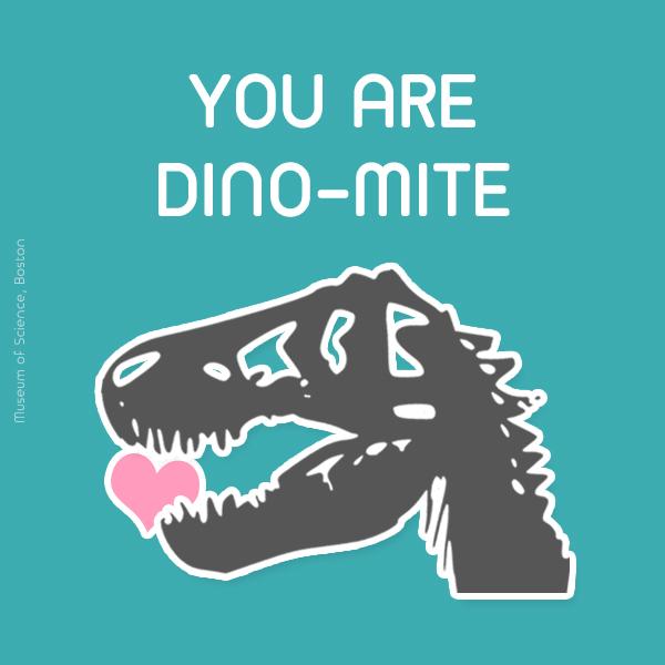 You are dino-mite