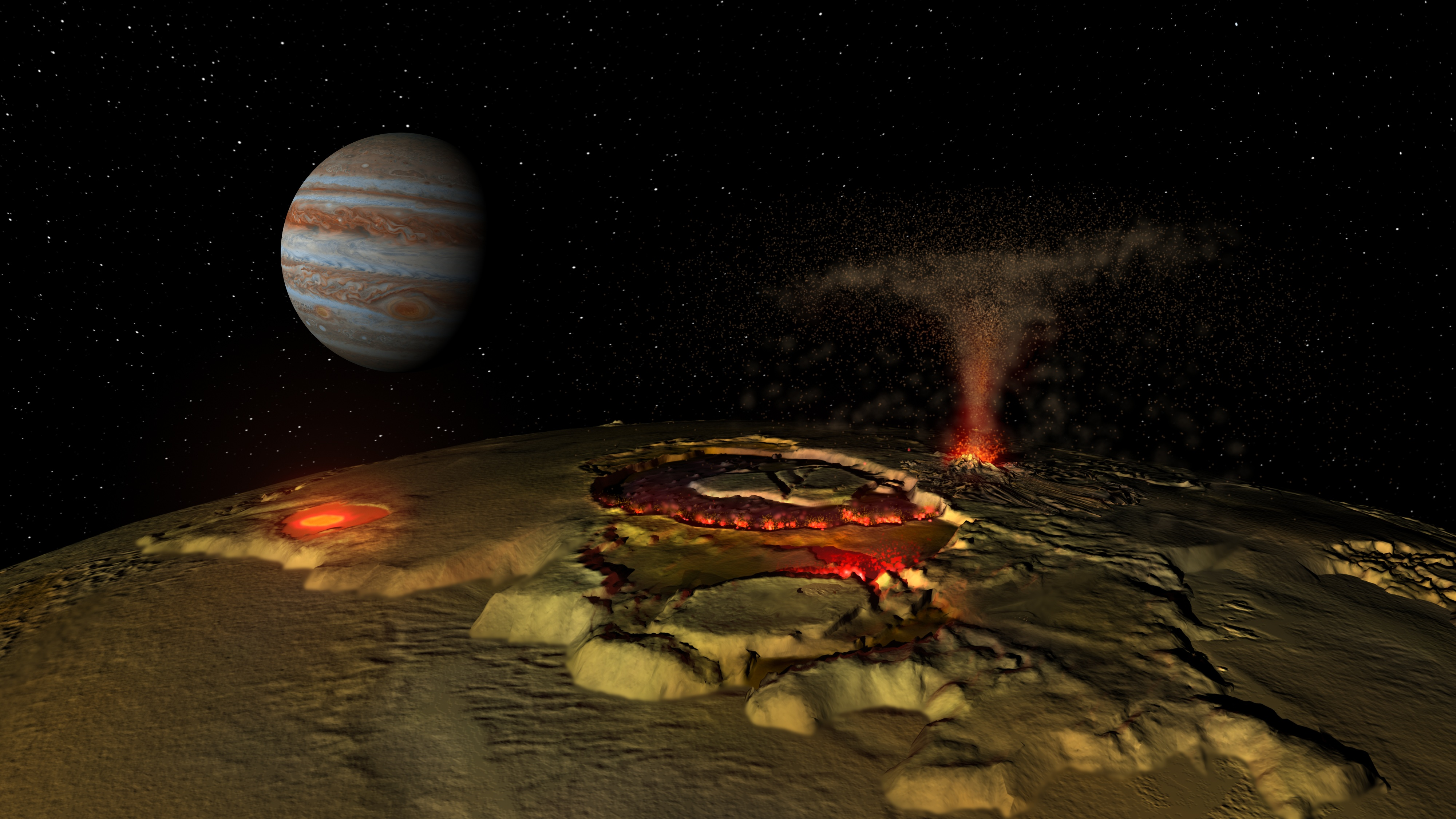 Ganymede Moon Surface Surface of Jupiter 39 s Moon