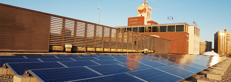 Museum of Science Rooftop Solar PV
