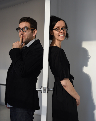Nathalie Pozzi and Eric Zimmerman