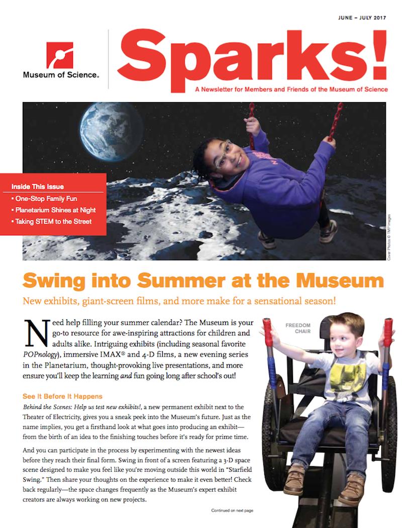 June/July 2017 Sparks Cover