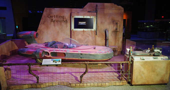 Picture of landspeeder