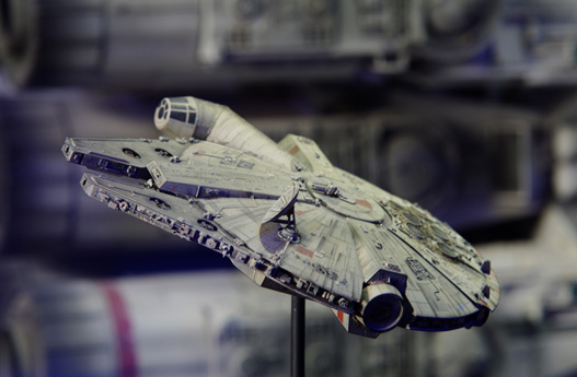 Picture of Star Wars small falcon artifact
