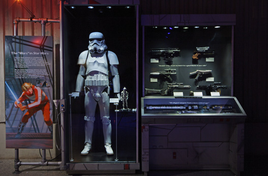Picture of Star Wars weapons