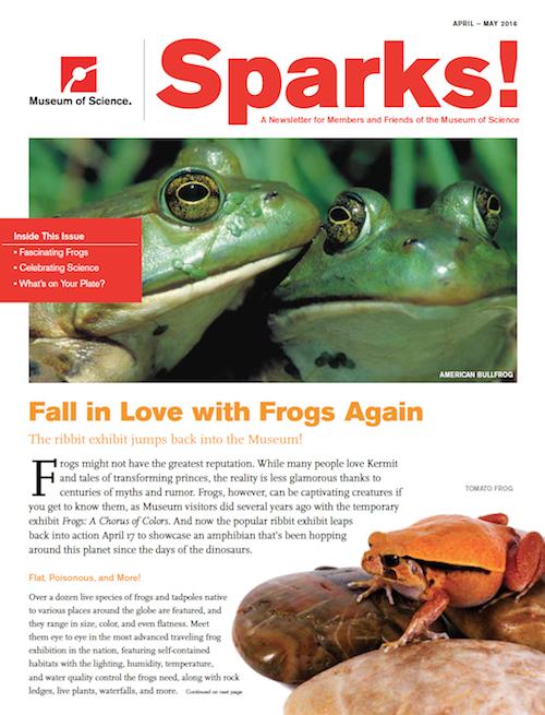 Sparks! magazine cover