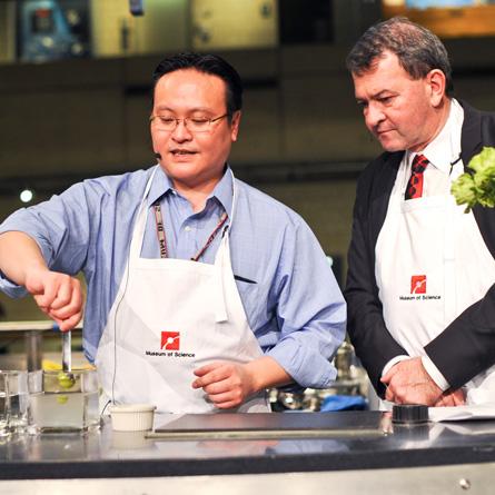 Chef demonstration