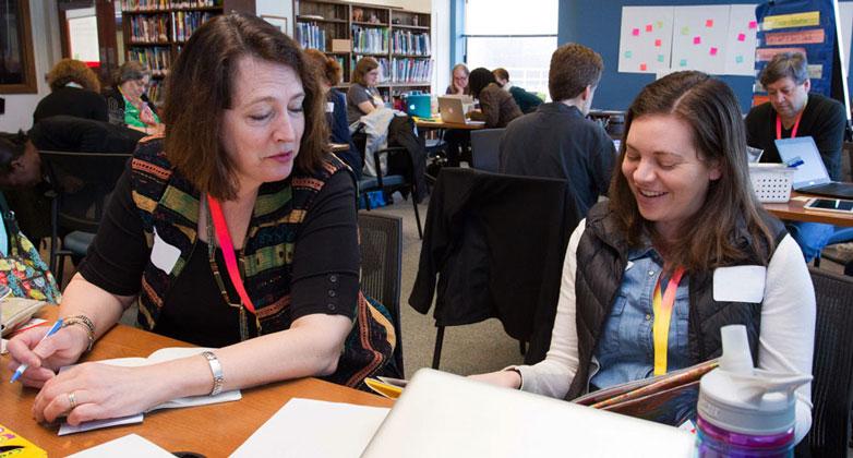 Educator workshop at the Educator Resource Center