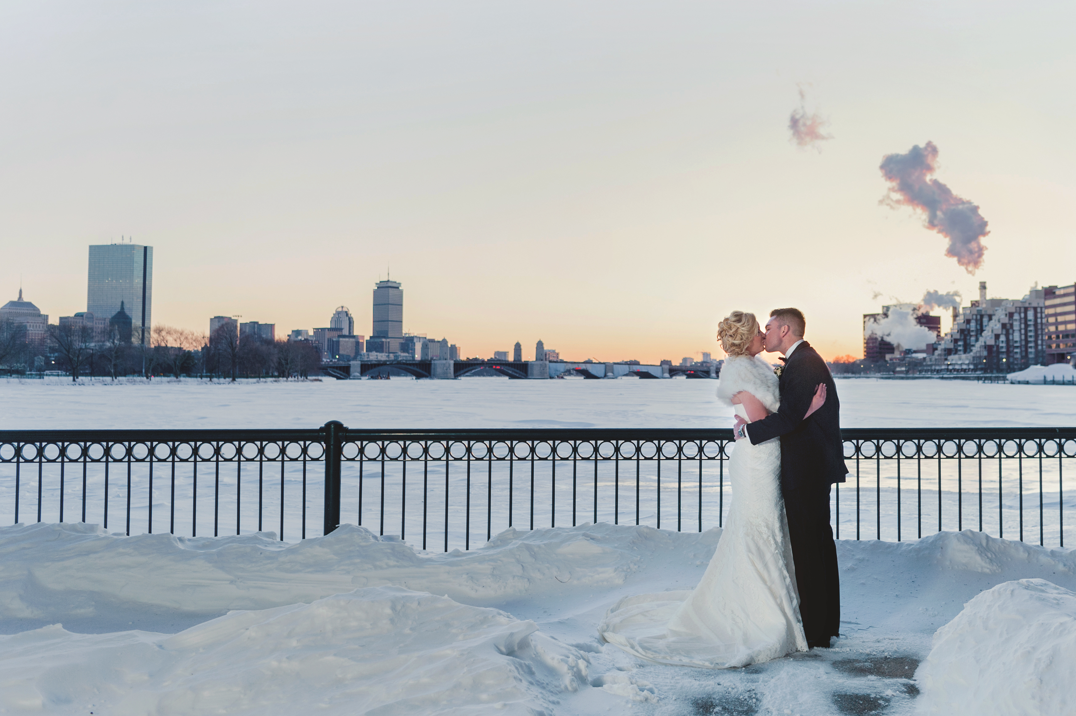 Picture of wedding at Museum of Science