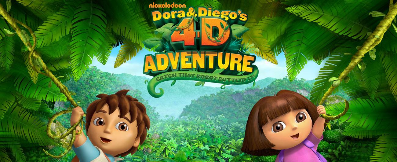 Dora & Diego's 4-D Adventure | Museum of Science, Boston