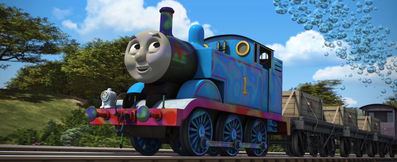 Thomas & Friends 4-D: Bubbling Boilers!