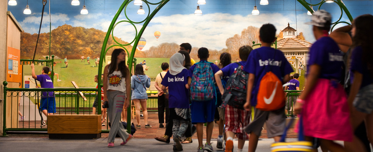Science in the Park exhibit