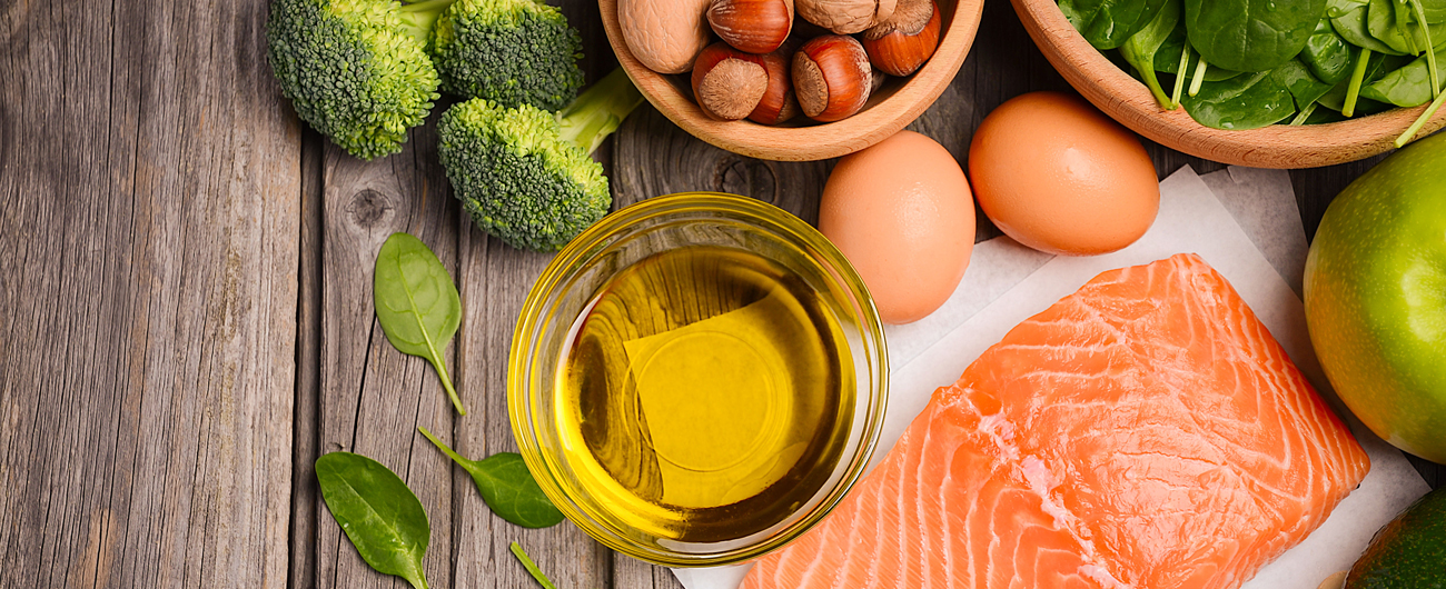 Healthy Fats, Omega 3, Green Vegetables
