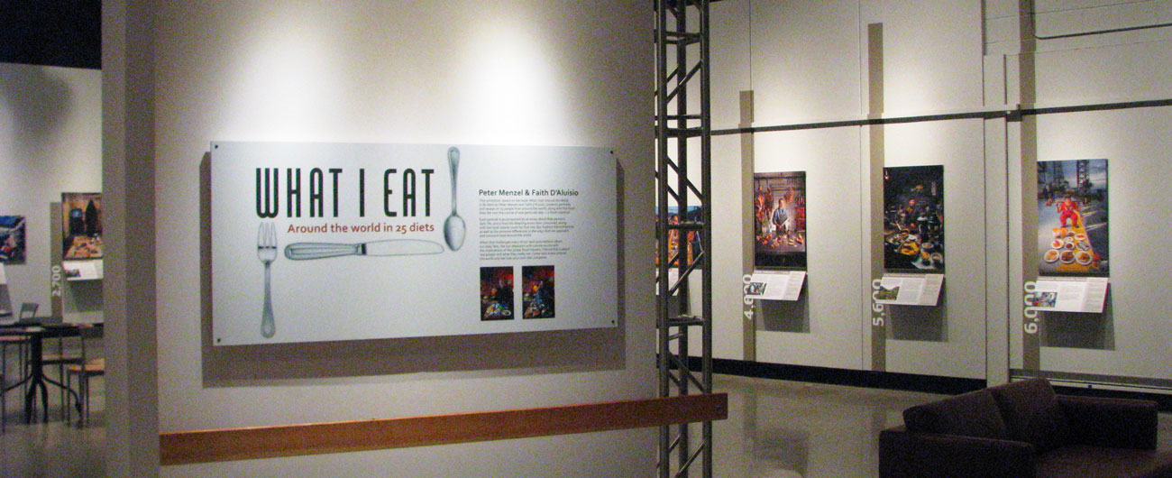What I Eat exhibit
