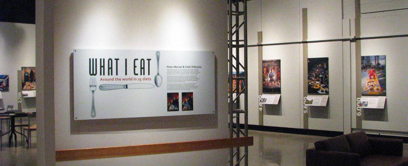 What I Eat exhibit