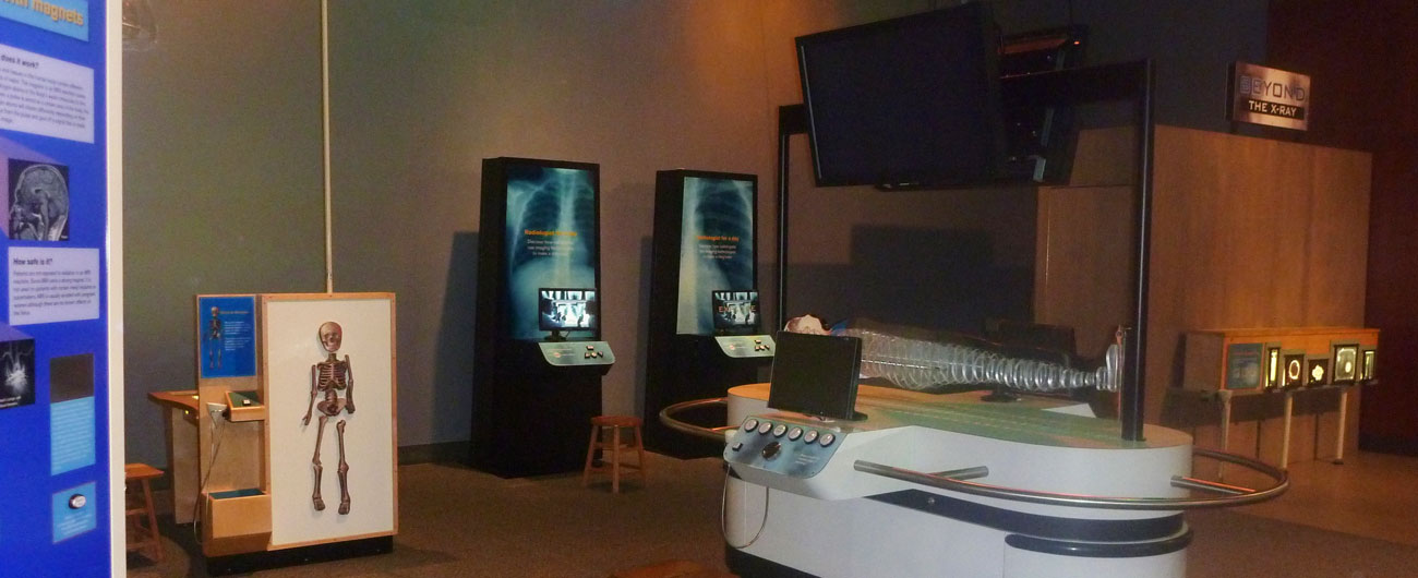 Beyond the X-Ray exhibit