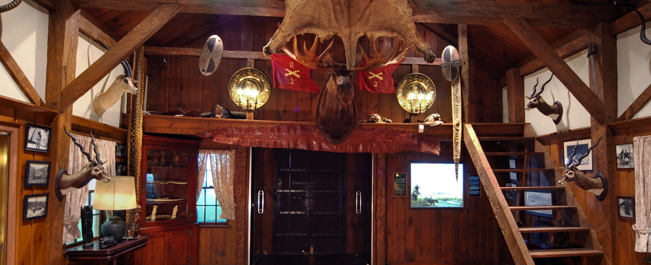 The Colby Trophy Room