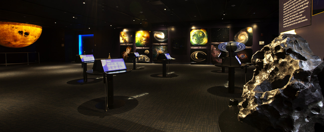 Cosmic Light exhibit