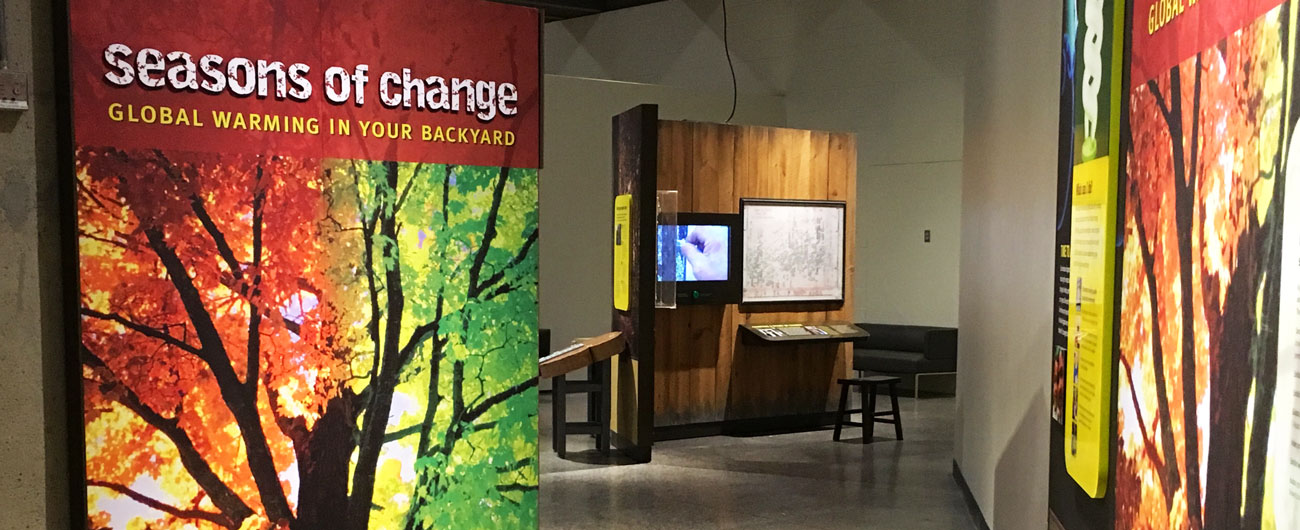 Seasons of Change exhibit