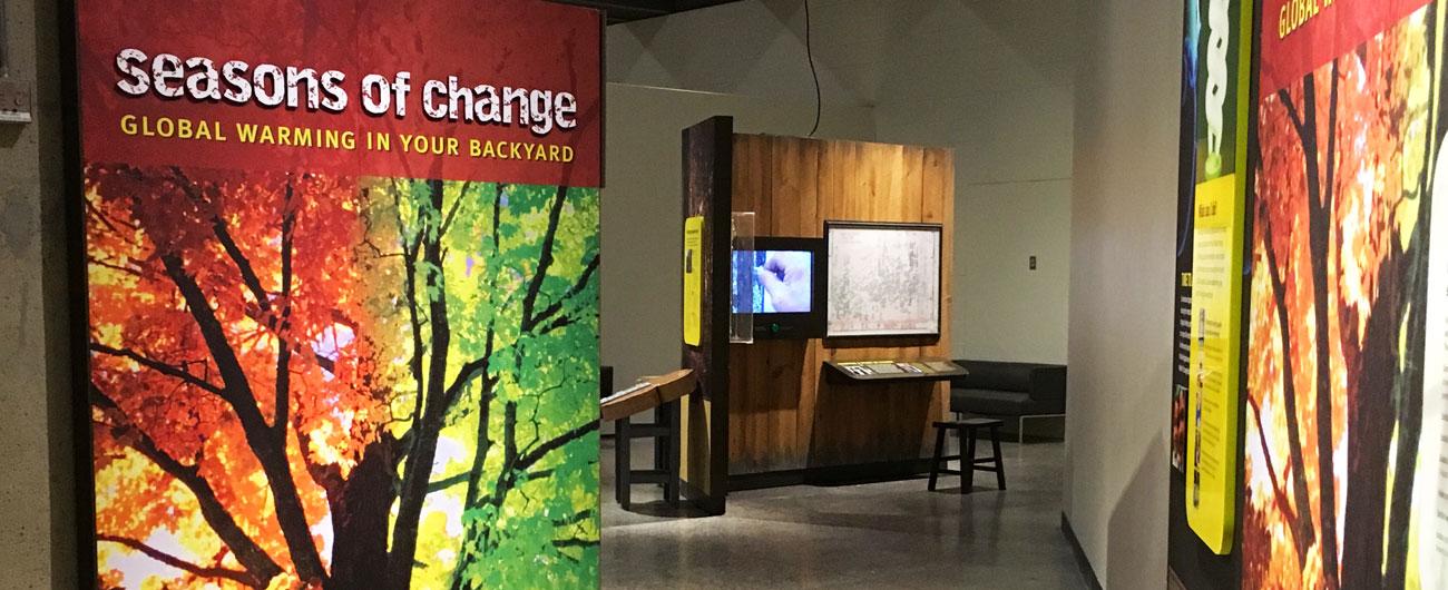 Seasons of Change exhibit