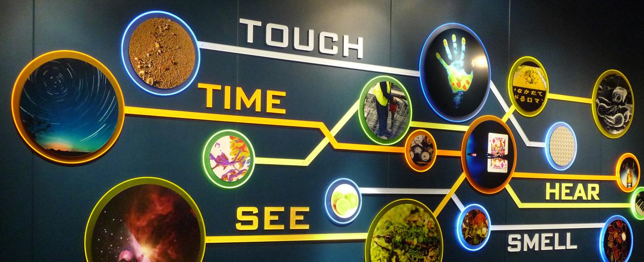 Take a Closer Look exhibit entrance