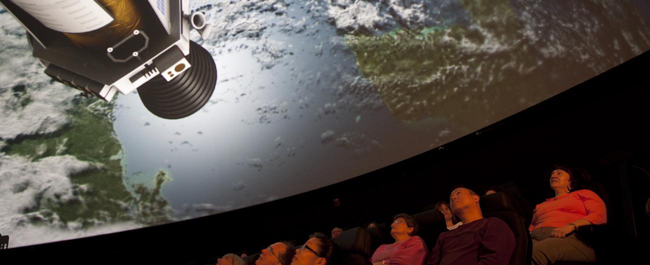 Group in the Planetarium