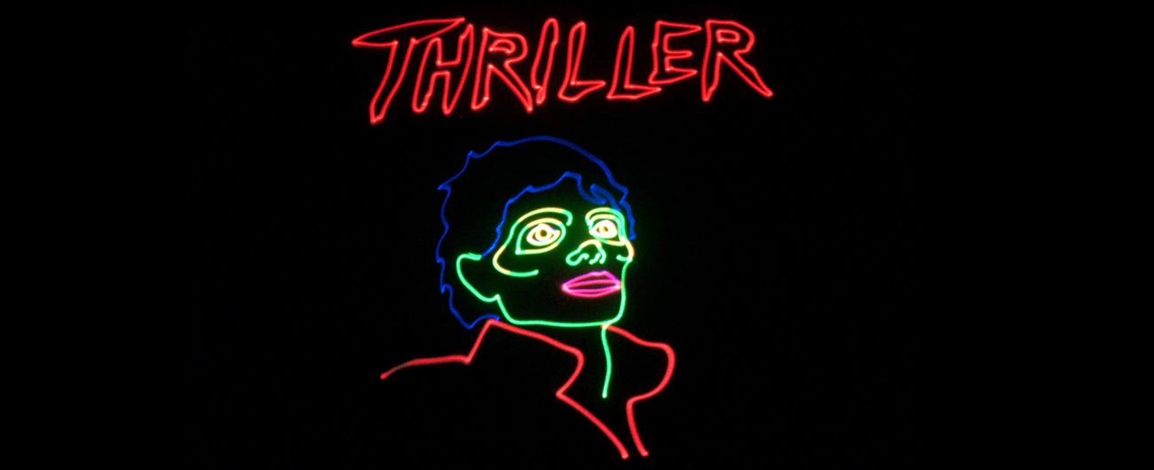 Laser Michael Jackson picture