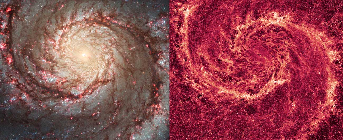 Beyond the Telescope: A Universe of a Different Color