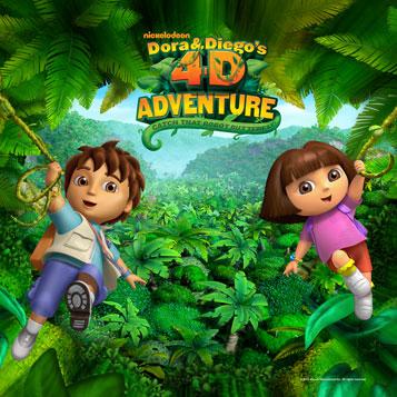 Dora & Diego's 4-D Adventure picture