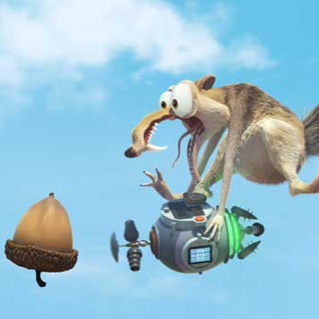 Ice Age: No Time for Nuts 4-D