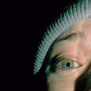 Screenshot from The Blair Witch Project