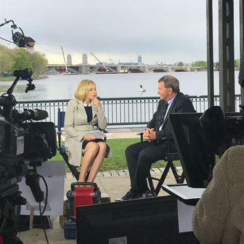 Bloomberg Technology broadcasts live from the Museum of Science, Boston