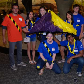 Picture of a EurekaFest team