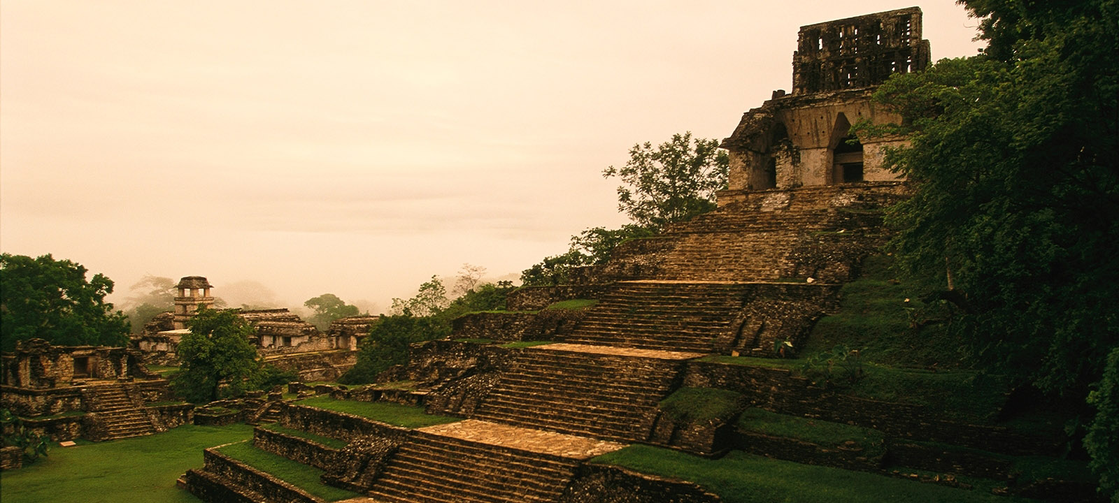 Palenque Pyramid
