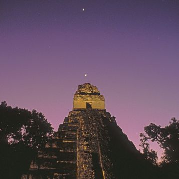 Pyramid at Tikal